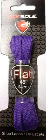 Sof Sole Flat Laces 45 Neon Purple***