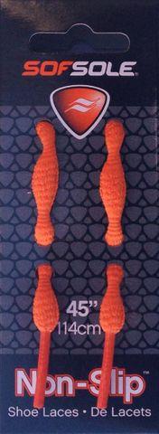 """Sof Sole Non Slip Laces 45"""" Orange***"""