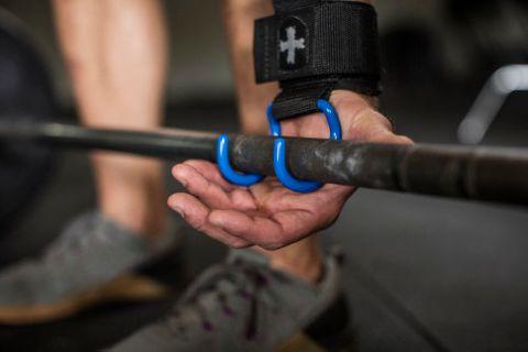 Harbinger Lifting Hooks Black/Blue
