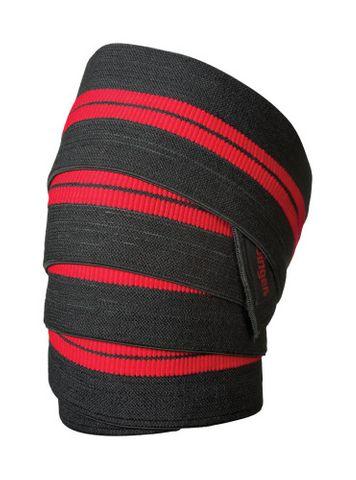 "Harbinger Red Line Knee Wraps Black 78"""