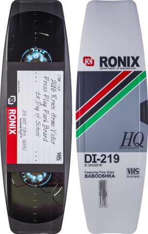 2016 RONIX PRESS PLAY WAKEBOARD