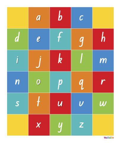 Robotics Alphabet Mat