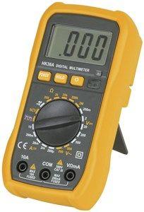 Multimeter 3.5 digital 19 range 10A DC