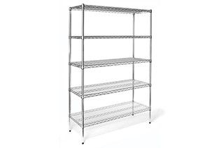 Shelf unit static 5 shelf 46x15.2x160cm
