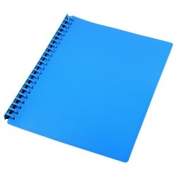 Display book refillable A4 Blue