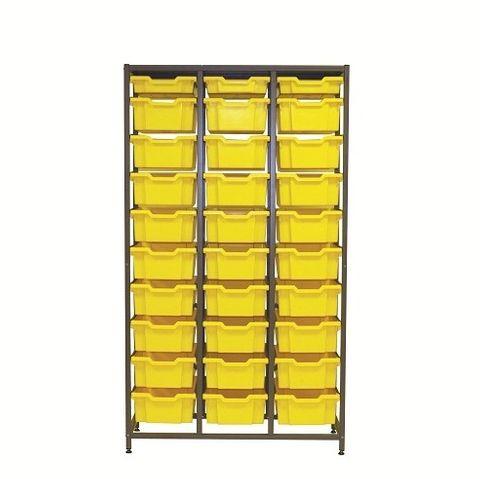 Frame triple column 1850mm 3F1 27F2 tray