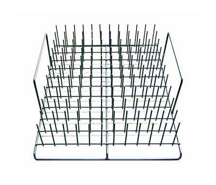 Test tube rack for Omega dishwasher
