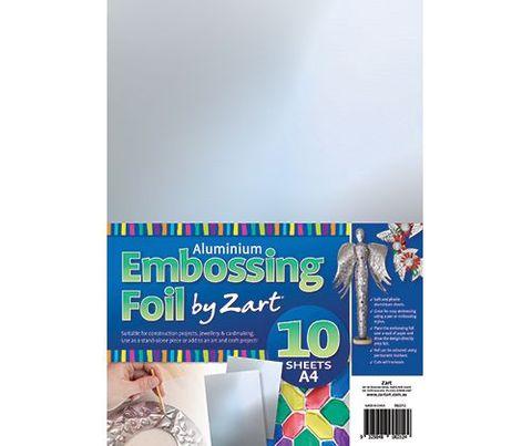 Alum Embossing Foil A4 10s