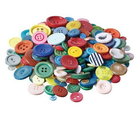 Basics Buttons Asst 600g approx 1400pcs
