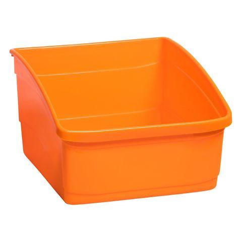 Large Book Tub - Orange