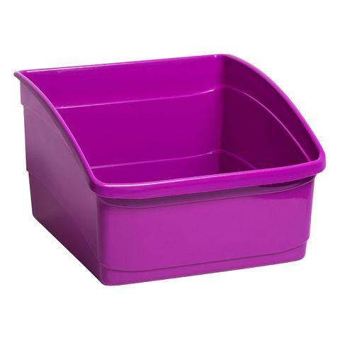 Large Book Tub -Purple