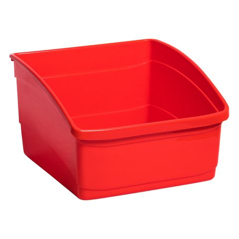 Large Book Tub - Red