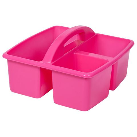 Small plastic caddy - magenta