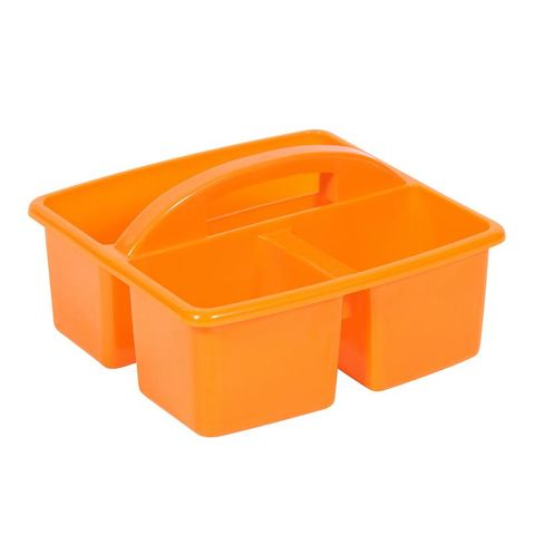 Small plastic caddy - orange