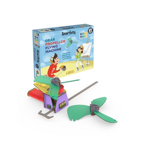 Smartivity gear propeller flying machine