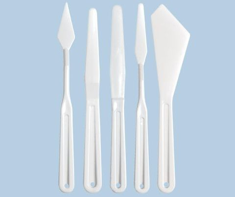 Plastic Palette Knives
