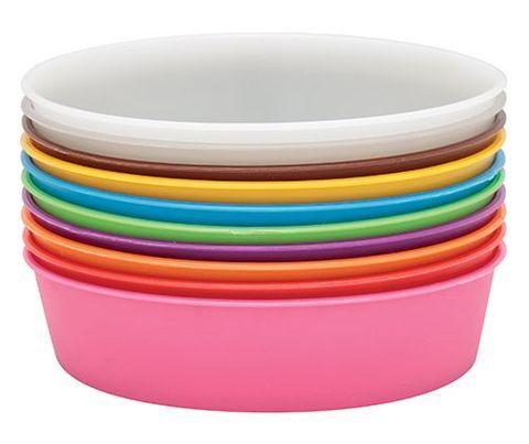 Plastic Painting Bowls 13cm