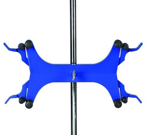 Clamp burette high strength alloy double