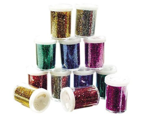 Glitter Pepper Shaker (12 assorted)