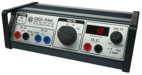 Power supply 'Digi-Pak' 2-12V 5A with