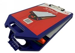Clipboard Stat A4 with storage a/colours