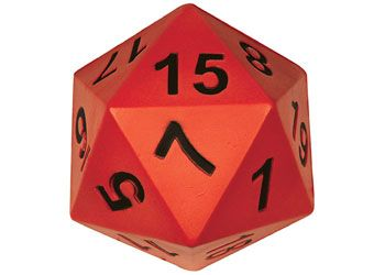 Soft Foam 20 Sided Dice 15cm