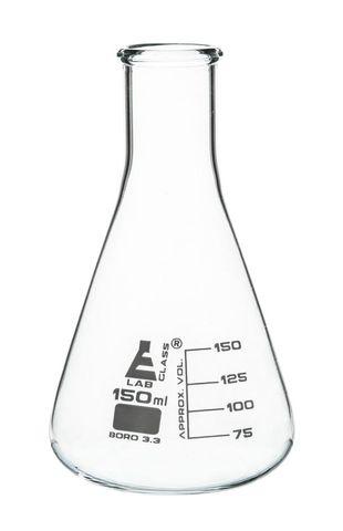 Flask Erlenmeyer NM glass 150ml Labglass