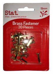 Paper fasteners brass 19mm