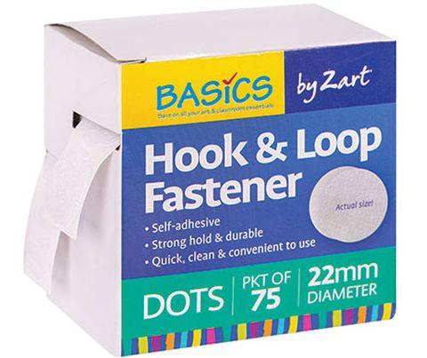 Hook & Loop Fastener Dots 75s