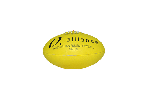 Eclipse 3PLY Syn Football Size 5 YELLOW