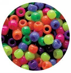 Pony beads - Neon