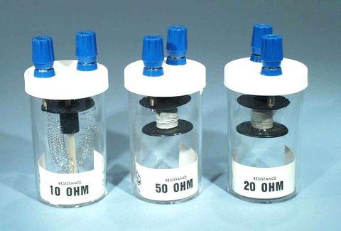 Resistance coil 50 OHM w/terminals
