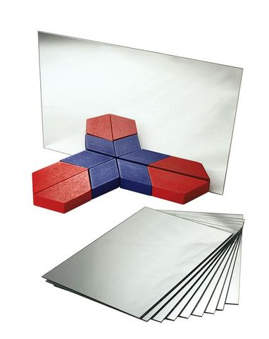 Mirror 150x100mm unbreakable