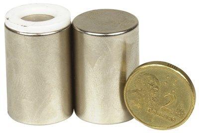 Magnet Neodymium Ni-plated 19x28mm