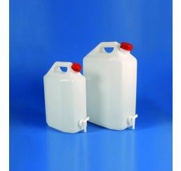 Rectangular storage tank 20lt c/w spigot