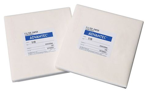 Chromatography paper MFS No.51B 20x20cm