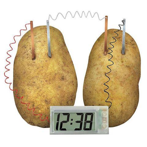 Potato clock highly accurate digital