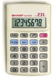 Calculator 8-digit desktop model EL213LB