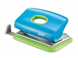 Hole punch 2 hole 10 sheets blue/green