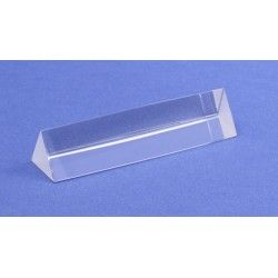 Prism optical glass equilateral 25x100mm