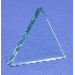Prism glass equilateral 75x10mm