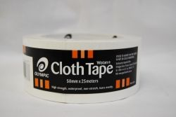 Tape cloth wotan 50mm x 25m white