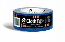 Tape cloth wotan 50mm x 25m blue