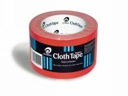 Tape cloth wotan 75mm x 25m red
