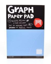 Graph pad Micador A3 GRP032 1mm squares
