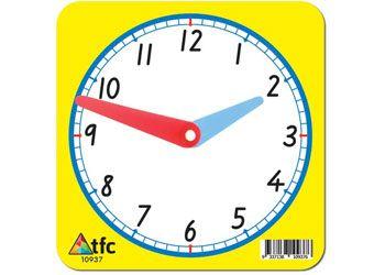 Clock face small 12 hour 11x11cm