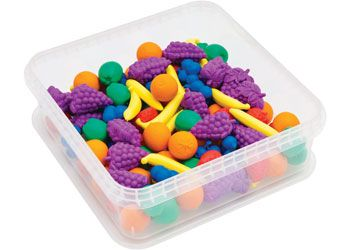 Fruit Counters plastic (TEB6005)