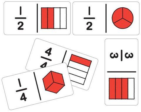 Dominos fraction beginner