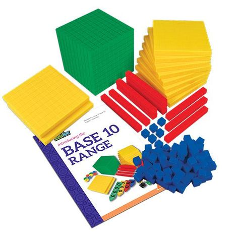 MAB base ten student set mixed