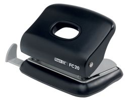 Hole punch 2 hole 20 sheets 80gsm black